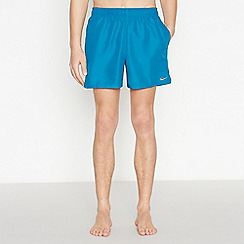 Nike - Dark Turquoise Swim Shorts