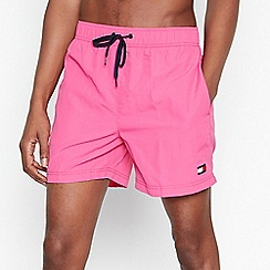 Tommy Hilfiger - Pink Slim Fit Swim Shorts