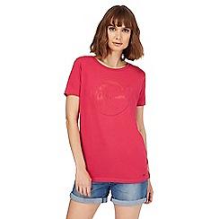O'Neill - Pink logo print t-shirt