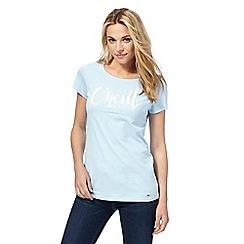 O'Neill - Light blue printed t-shirt