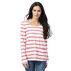 Weird Fish - Multi-coloured stripe long-sleeve t-shirt