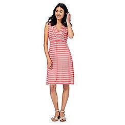 Weird Fish - Pink striped dress