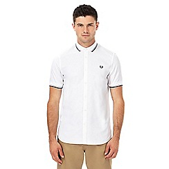 Fred Perry - White tipped shirt