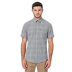 Ben Sherman - Black and white gingham print shirt