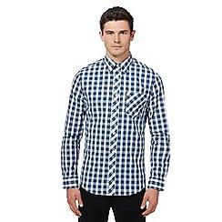 Ben Sherman - Blue checked shirt