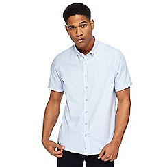 Jacamo - Big and tall light blue oxford shirt