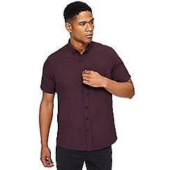 Jacamo - Big and tall purple oxford shirt