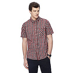 Jacamo - Dark red checked shirt