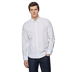 Jacamo - White spotted trim shirt