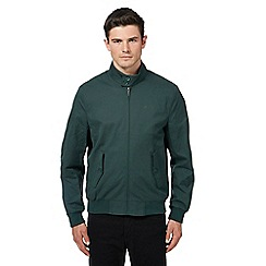 Ben Sherman - Green funnel neck Harrington jacket