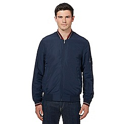 Ben Sherman - Navy tipped bomber jacket