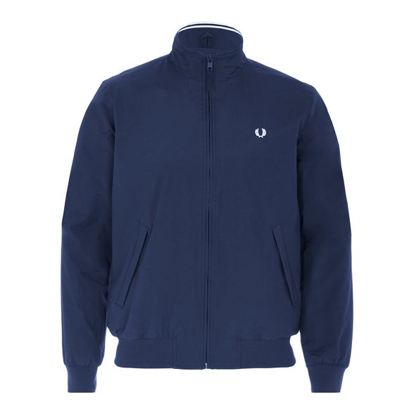 Fred Perry jacket Fred Navy Navy 'Brentham' Fred 'Brentham' jacket Perry Perry rw7rxHqA
