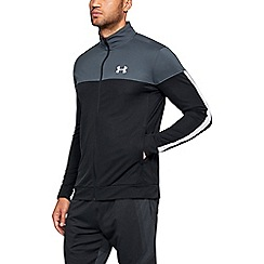 Under Armour - Multi-coloured sport style pique warm up jacket