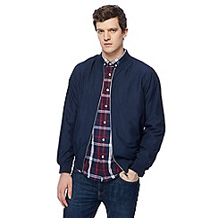 Jacamo - Big and tall navy bomber jacket