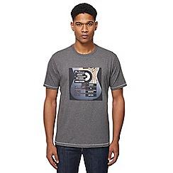Ben Sherman - Grey printed t-shirt