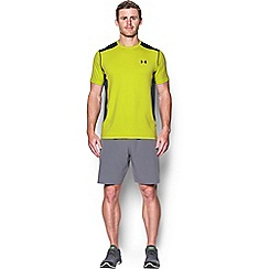 Under Armour - Yellow 'HeatGear®' Raid t-shirt