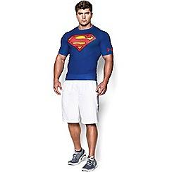 Under Armour - Blue 'HeatGear®' compression t-shirt