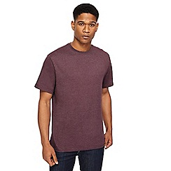 Jacamo - Purple crew neck t-shirt