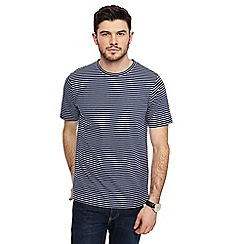 Jacamo - Navy stripe t-shirt