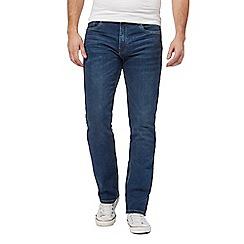 Ben Sherman - Blue straight fit jeans