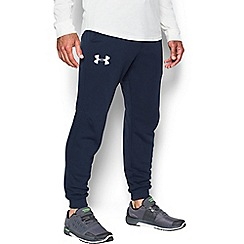 Under Armour - Navy blue 'Rival Fleece' joggers