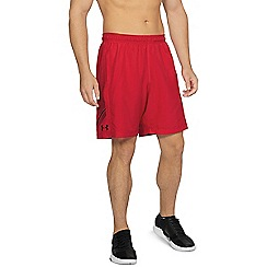 Under Armour - Red blue graphic woven shorts