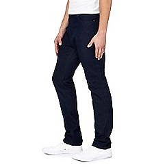 Jacamo - Big and tall dark blue regular leg jeans