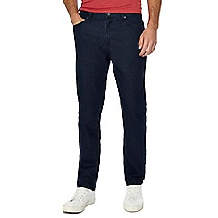 Jacamo - Dark blue dark wash slim fit jeans