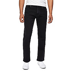Jacamo - Big and tall black regular jeans