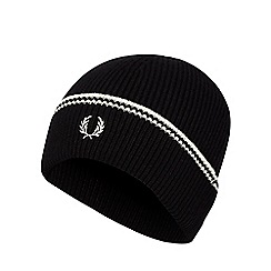 Fred Perry - Black tipped beanie