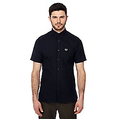 Fred Perry - Navy Oxford shirt