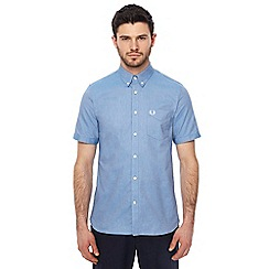 Fred Perry - Light blue Oxford shirt
