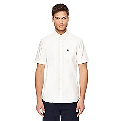 Fred Perry - White Oxford shirt