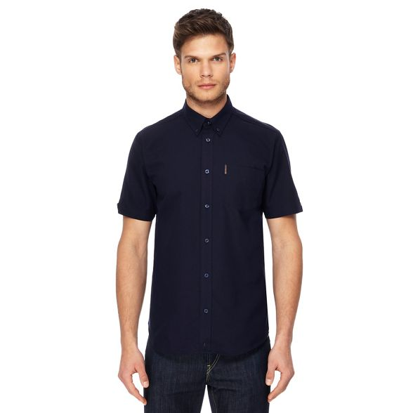 navy tall and Ben Sherman oxford shirt Big qA4qHIwpU