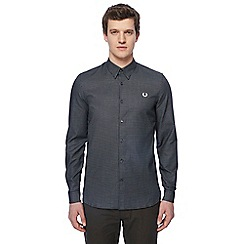 Fred Perry - Black printed shirt