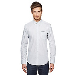 Ben Sherman - Big and tall white target print shirt