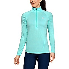 Under Armour - New tech 1/2 zip twist t-shirt