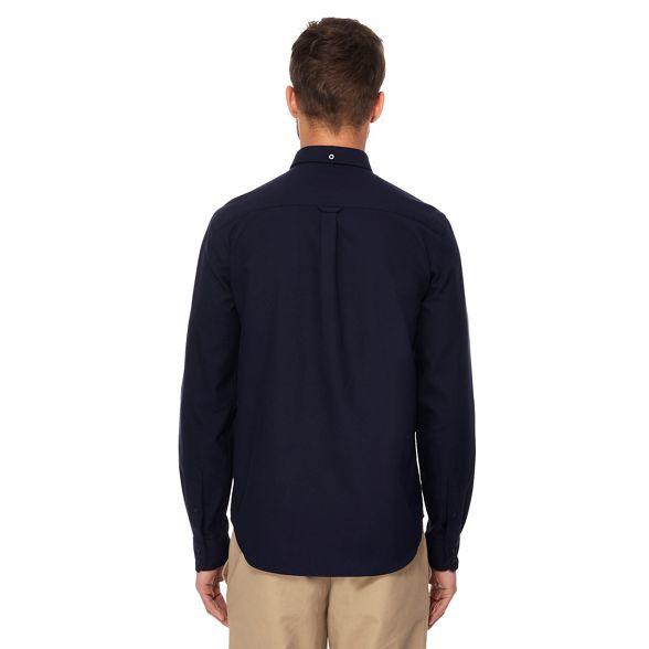 navy oxford Big and tall Ben Sherman shirt AzvAqS