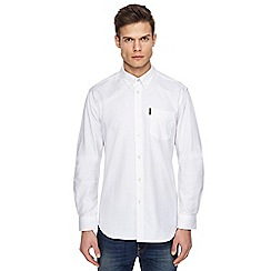Ben Sherman - Big and tall white oxford shirt
