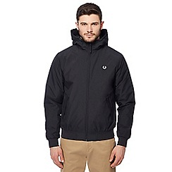 Fred Perry - Navy hooded 'Brentha' jacket