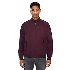 Ben Sherman - Wine red Harrington jacket