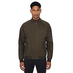 Ben Sherman - Dark green Harrington jacket