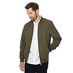 Jacamo - Khaki 'Woody' bomber jacket
