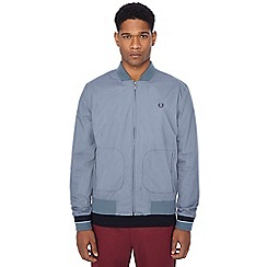 Fred Perry - Blue lightweight bomber jacket
