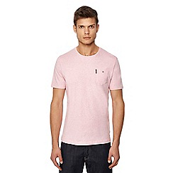Ben Sherman - Big and tall pink pocket t-shirt