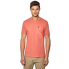 Ben Sherman - Big and tall light pink pocket t-shirt