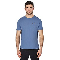 Ben Sherman - Big and tall blue pocket t-shirt