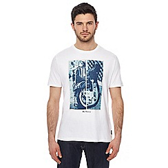 Ben Sherman - White graphic print t-shirt