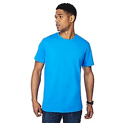 Jacamo - Blue crew neck t-shirt