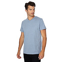 Jacamo - Blue V-neck t-shirt